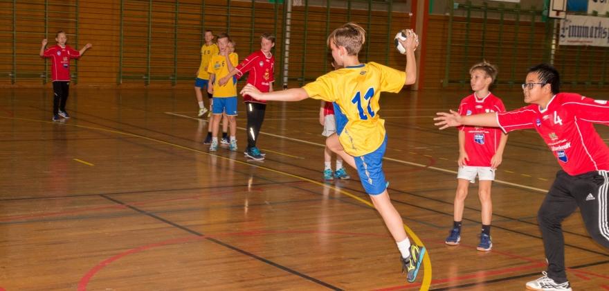 Turn spilte håndball mot BUL i helgen