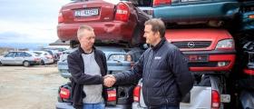 Bilmottak Finnmark har åpnet i Billefjord