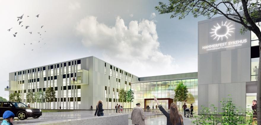 Styrebehandle nye Hammerfest Sykehus