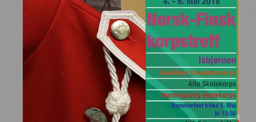 Skolekorpstreff i Hammerfest