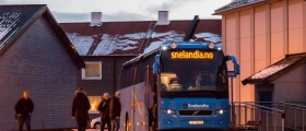 Bussen i formiddag kansellert