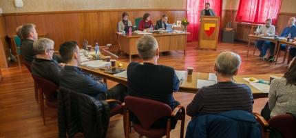 Har utsatt kommunestyremøtet