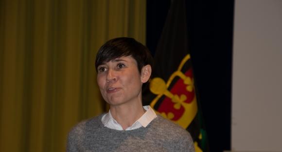 Utenriksministeren kommer til Finnmark