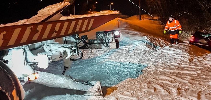 Nordkapp Auto må berge mange på vinteren