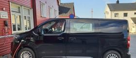 Nordkapp kommune har fått to el-biler