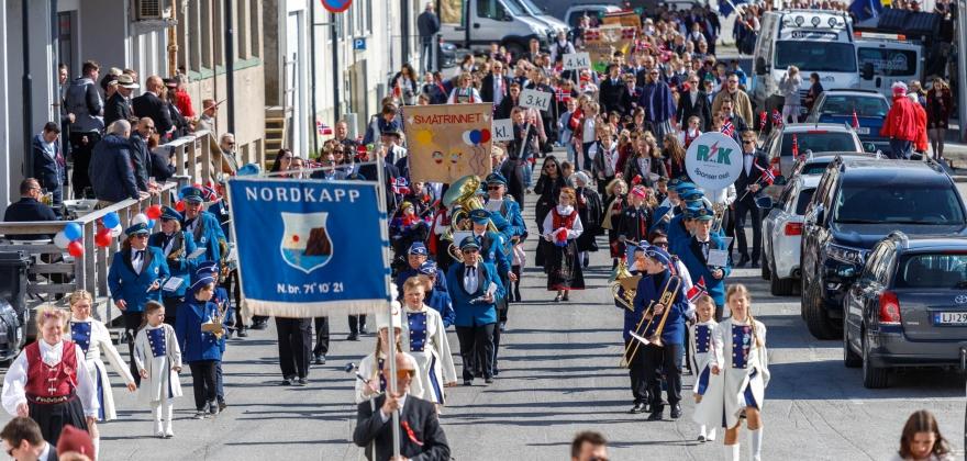 Tradisjonell 17. mai i Nordkapp