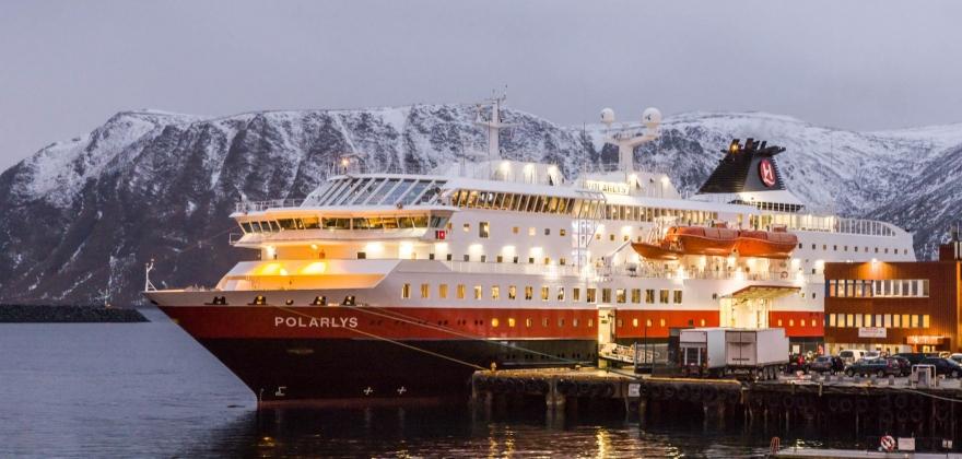 Første hurtigruteskip fra Bergen i 2021
