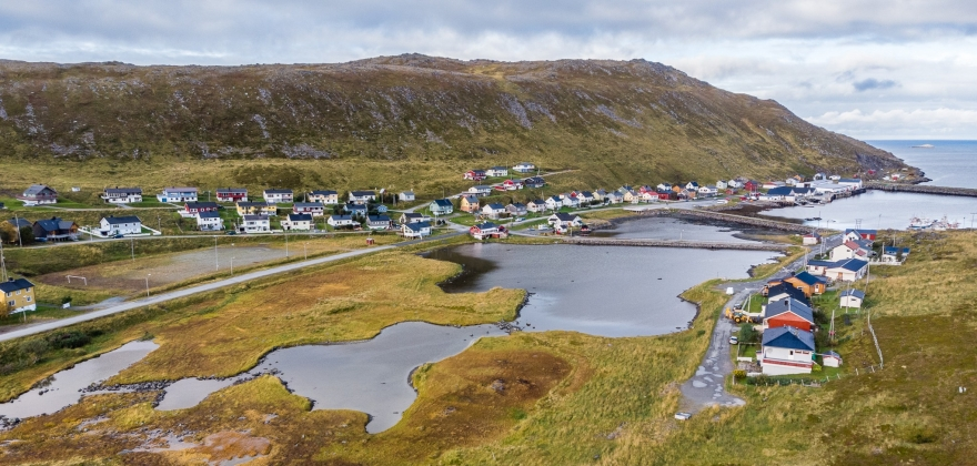 Radiobingo er sommerens høydepunkt for besøkende i Skarsvåg