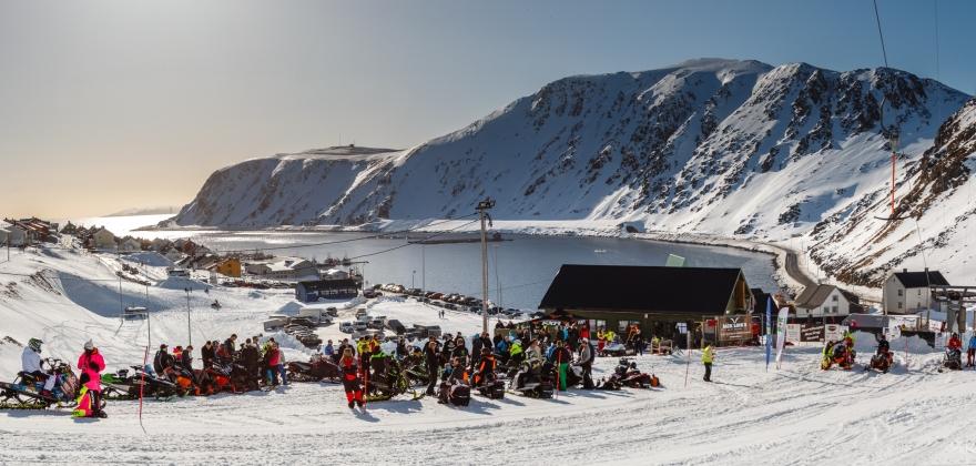 Motbakkeløp i Nordvågen - se bildene