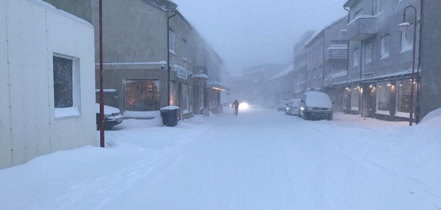 Drosjene kjører igjen i Nordkapp