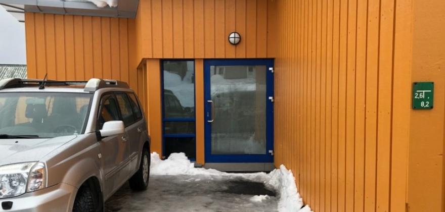 Alle nødutgangene er fri for snø