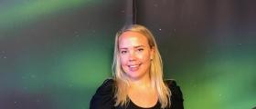 Marte solgte Nordkapp på Norwegian Travel Workshop