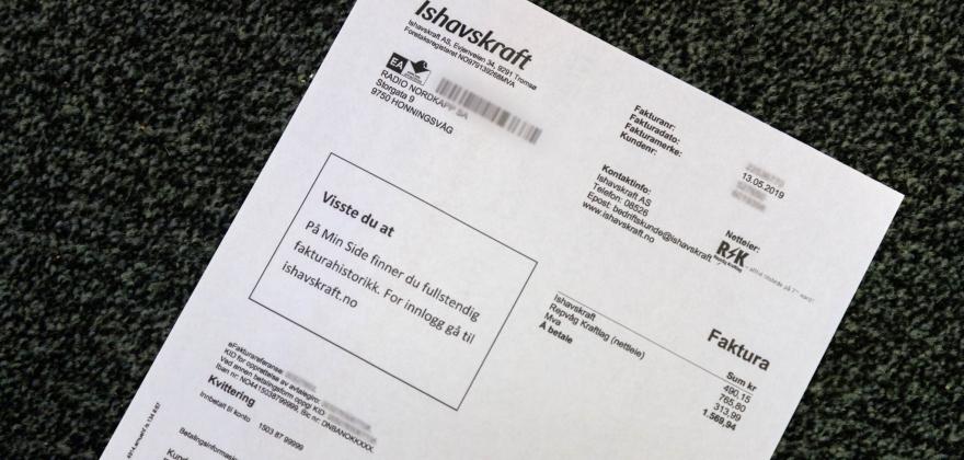 150 kunder i Honningsvåg venter på strømregningen fra Ishavskraft