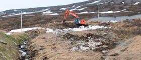 Status vannforsyning i Honningsvåg