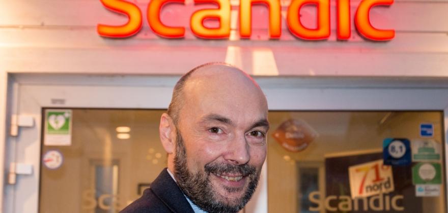 Hans Paul er ny Scandic-direktør på Magerøya