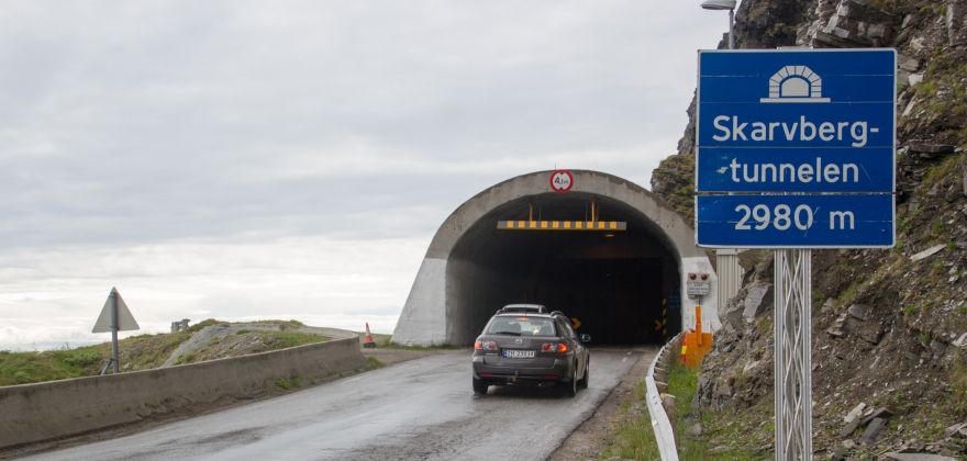 Navnesak for Skarvbergtunnelen i Porsanger kommune