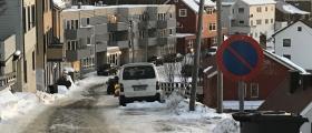 Flytt parkerte biler