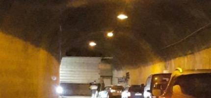 Skarvbergtunnelen åpnet for ferdsel