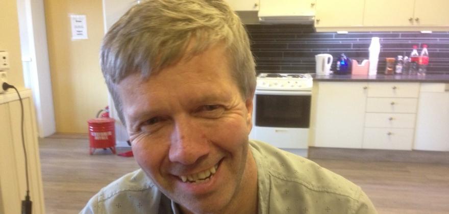 Odd Johnsen er fornøyd med mimrekvelden