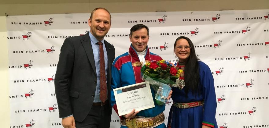 Skodi Rein ble vinner av Årets reinkjøttformidler