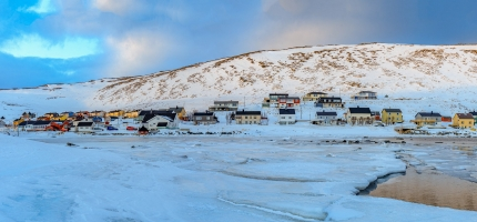Strømutkobling i Skarsvåg