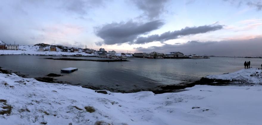 Befarte kai på Ingøy