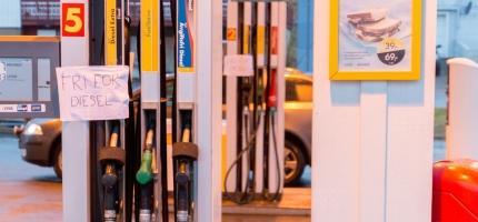 Kunder får ikke kjøpt diesel i Honningsvåg, teknisk feil på pumpa