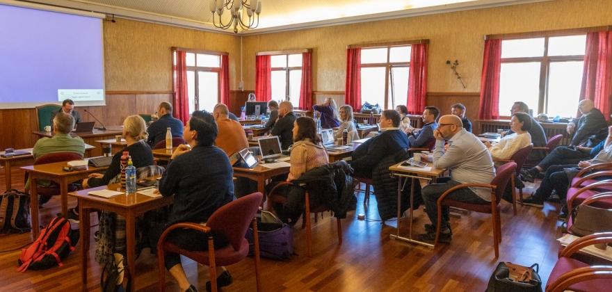 Søker om medlemskap i Transparency International Norge