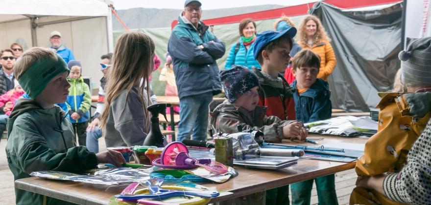 Premieutdeling fiskekonkurranse Skarsvåg