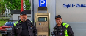 Nye parkeringsautomater på plass i Honningsvåg