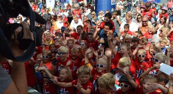 Tour of Norway for kids kommer til Honningsvåg