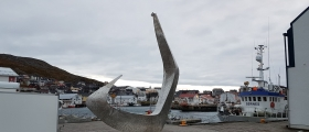 Fiskekroken på plass på Holmen