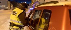 Promillekontroll i Honningsvåg fredag formiddag