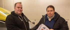 Sikkerhetsbelte Kangoofix til Nordkapp ambulanse