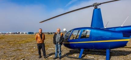 Ferietur med helikopter