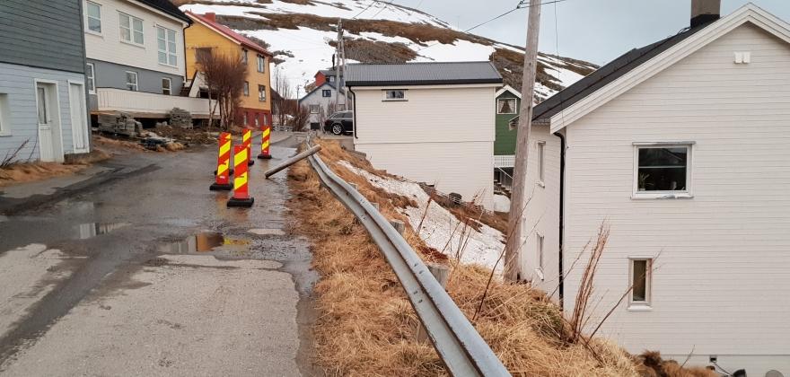 Fjellveien uten vann på onsdag