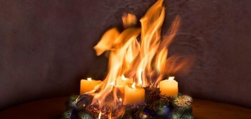 Desember-hygge gir brannrekord