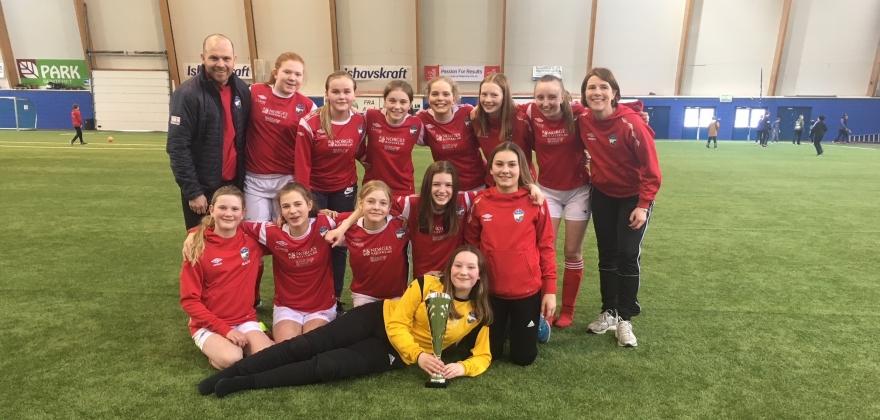 Stort fremskritt for jentefotballen i Turn