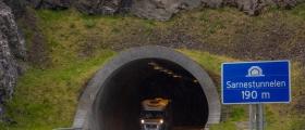 Arbeider i Sarnestunnelen fortsetter