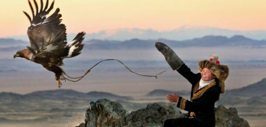 Ørnefilm blir vist for første gang i Norge