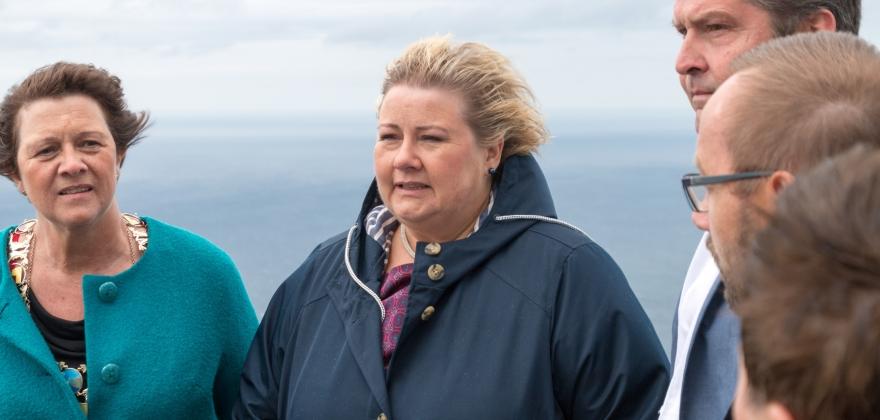 Statsministeren på Nordkapp