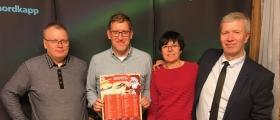 Vinnerne på konkurransene i Radio Nordkapps kveldssending