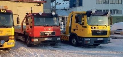 Uhell med utenlandsk trailer