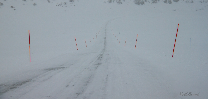 Til dels vanskelige kjøreforhold i hele Nord-Norge
