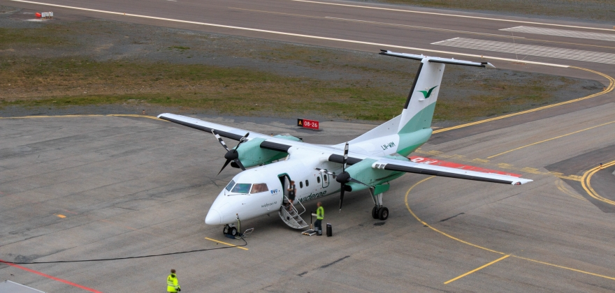 Flere reiser med fly til Valan