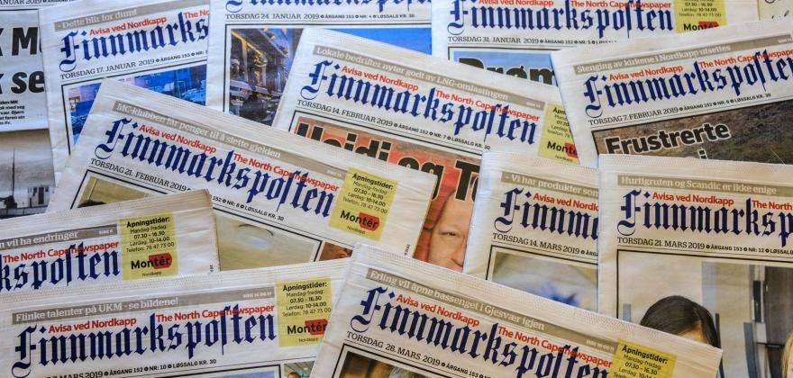 Økt pressestøtte til Finnmarksposten