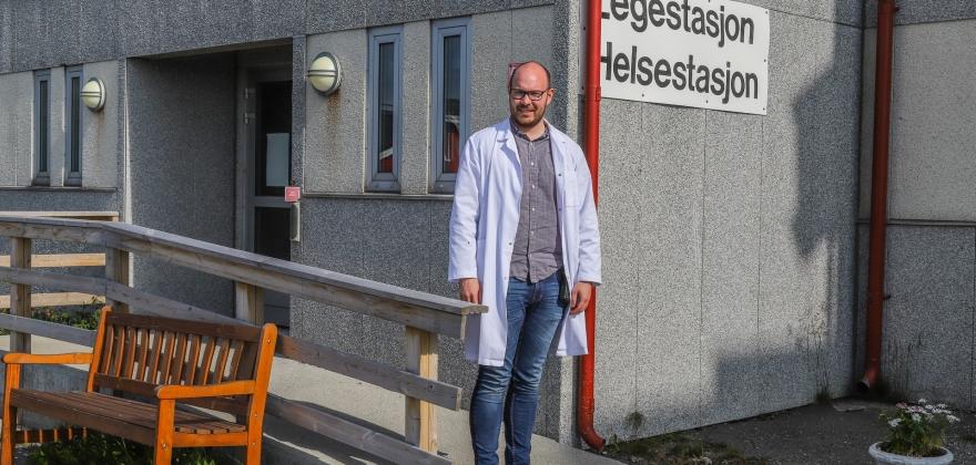 John Ynge Løvland ansatt som fastlege i Nordkapp