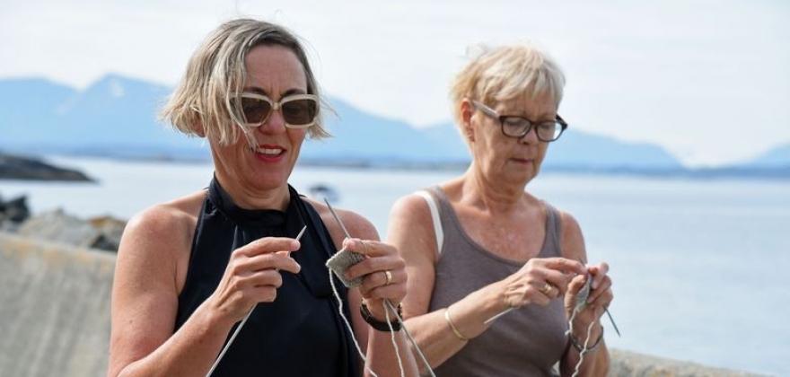 NM i gåstrikk: Ønsker arrangør i Nordkapp
