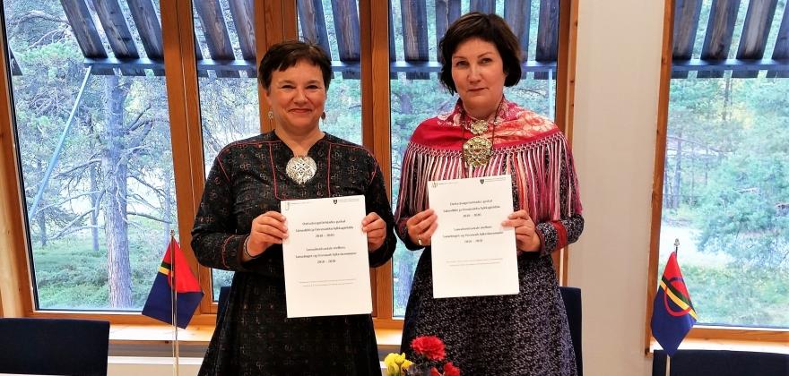 Undertegnet samarbeidsavtalen