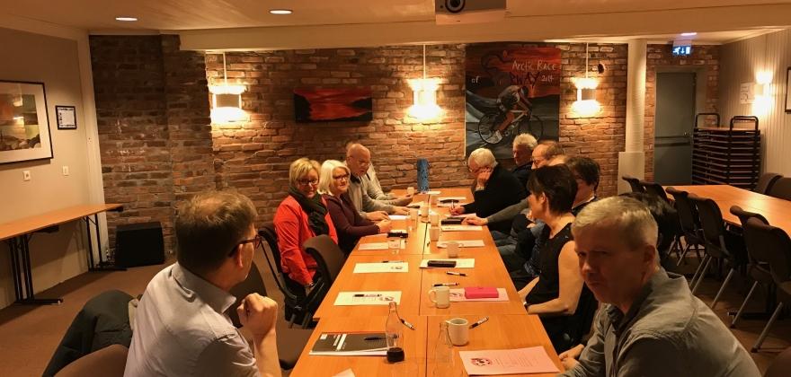 Alle gjenvalgt i Honningsvåg Supporterklubb